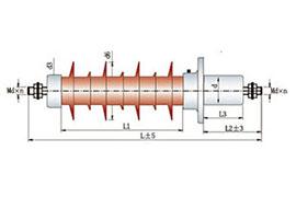 24kV玻璃钢干式变压器套管