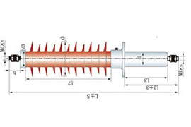40.5kV玻璃钢干式变压器套管